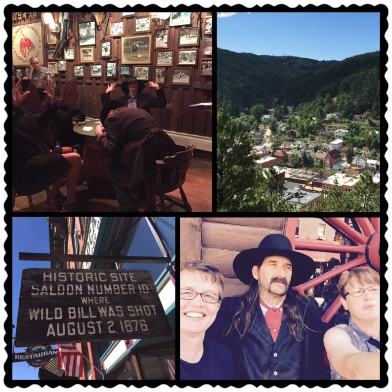 Deadwood collage