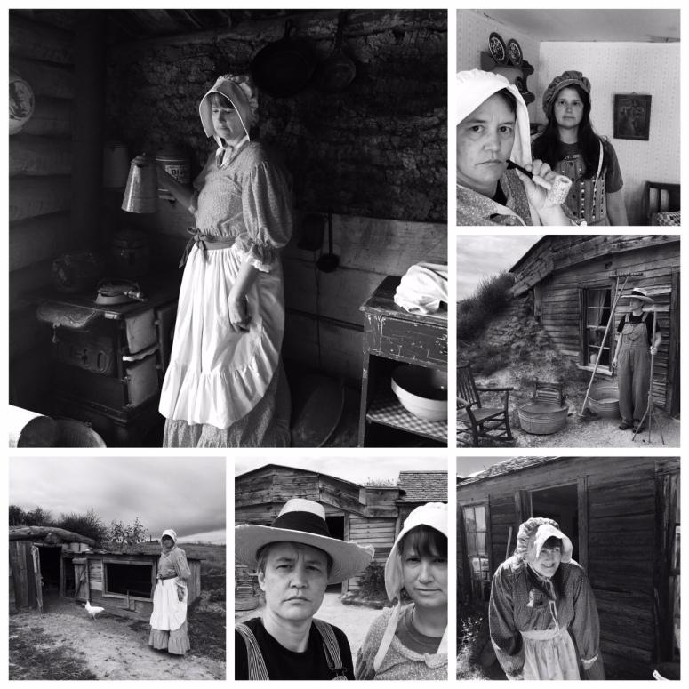 prairie homestead collage